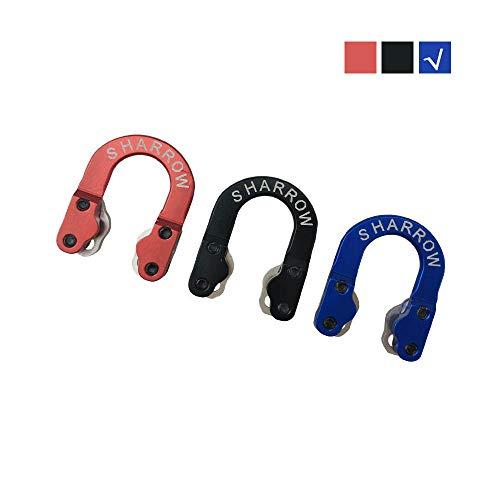 SHARROW D Loop Metal Tiro al Arco Accesorios de Arco Compuesto Azul