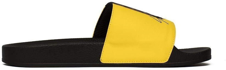 Adidas - Y3 Adilette - BC0912 - Farbe  Gelb-Schwarz - Gre  39 1 3 EU