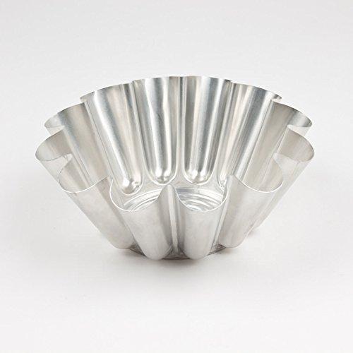 Gobel 623150 Moule à Brioche Grosses Côtes Aluminium Ø 22 cm
