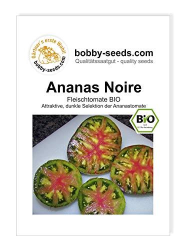 Ananas Noire BIO, Fleischtomate Tomatensamen von Bobby-Seeds Portion