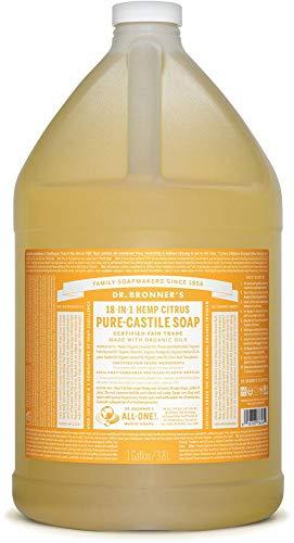Dr Bronners Citrus Castile Liquid Soap 3.78Ltr by Dr Bronners