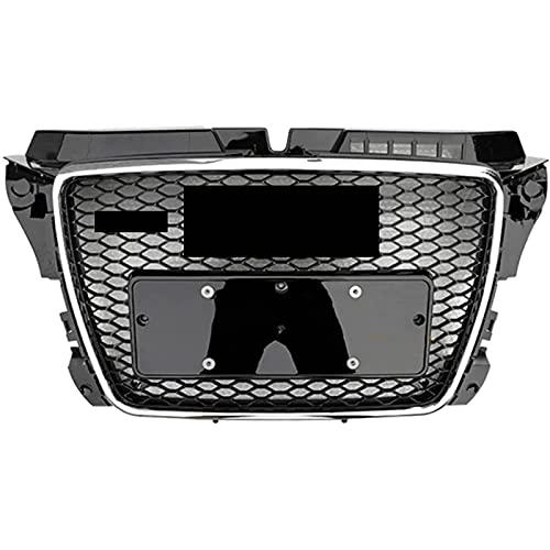 Kit de rejilla de radiador delantero ABS para A3 / S3 2009-2013, piezas de repuesto y modificación de coche, fácil de instalar