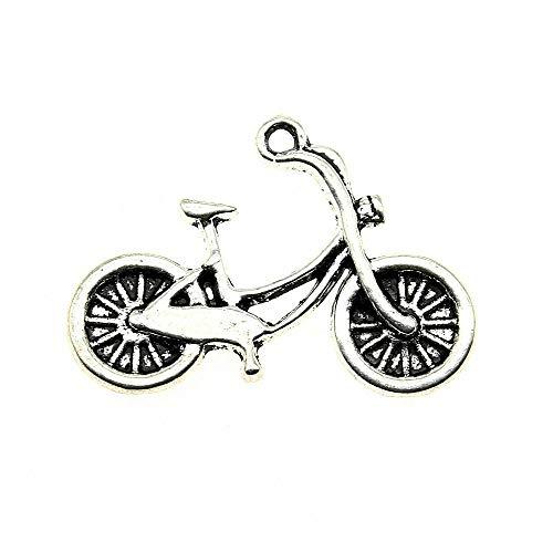 WANM Artisanaux Accessoires 15pcs vélo 1X0.7 Pouces (26X18Mm) Accessoires en métal Fabrication De Bijoux Et L'artisanat DIY