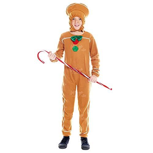 Disfraz Galleta Jengibre Infantil 4-6 años (+Tallas) Disfraz Original Navidad
