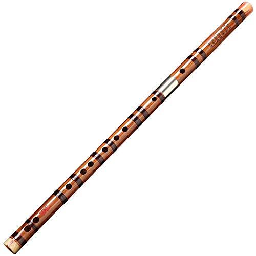 WZX Flauta, Flauta de bambú amarga Instrumento de interpretación Profesional Flauta Principiante Clarinete Musical Chino Antiguo Dizi