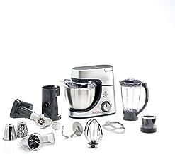 Moulinex Masterchef Gourmet Multi Purpose Kitchen Machine, 1100 Watts - QA513D27