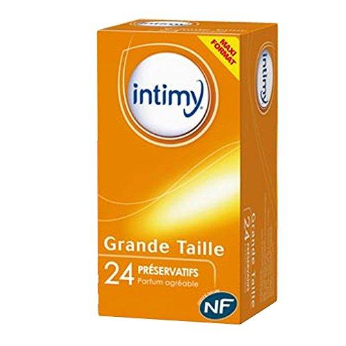 Intimy - 24 preservativos (tamaño grande)