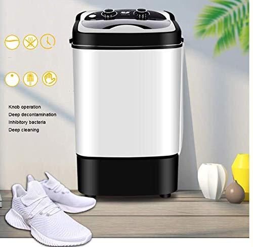 OOFAT Intelligente Haus Timer Waschmaschine, Intelligent Antibakteriell Blaues Licht Schuh Waschmaschine, 3-15 Minuten Timer Reinigungsfunktion, High Density Brushing