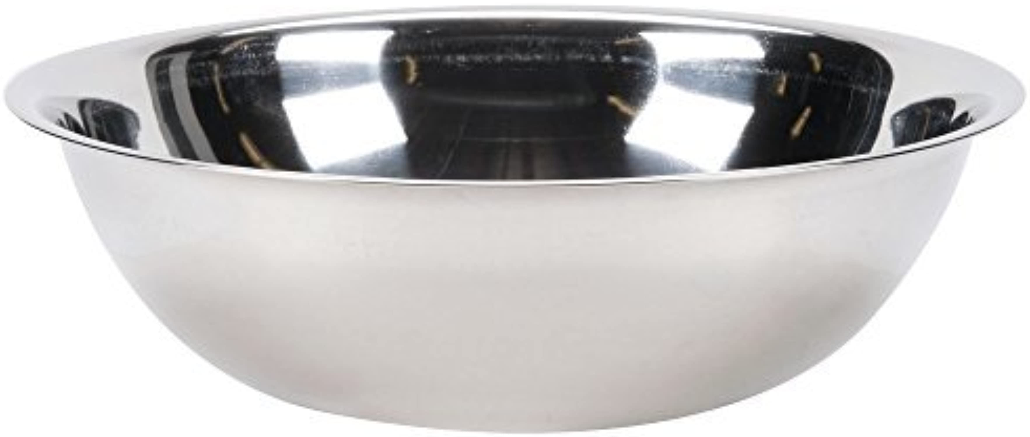 Vollrath 47946 Bright Mirror Finish S S Economy 16 Qt Mixing Bowl by Vollrath
