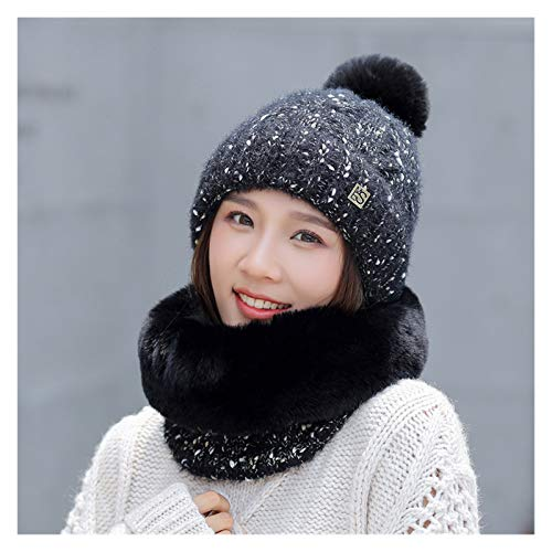 YNLRY Heat Holders - Gorros de invierno para mujer, diseño de copos de nieve con lunares, gorros gruesos y cálidos, para correr, pescar, ciclismo (color: estilo 9)