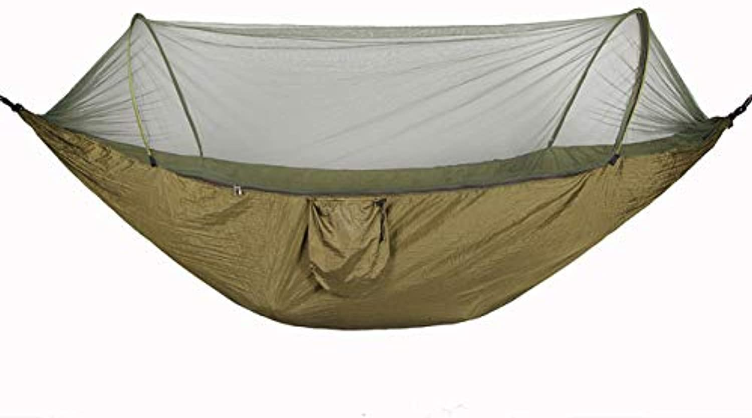 The Newest Outdoor Hammock Camping 290  145cm Quick Openning Mosquito Nets Portable Hammac Double Person Handing Chair Swing Bed   I