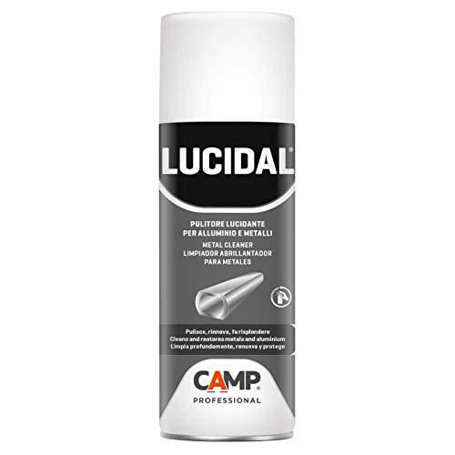 Camp LUCIDAL, Pulitore lucidante e ravvivante per serramenti, infissi e persiane in alluminio, pvc e metallo