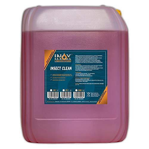 INOX® Insektenreiniger Insektenentferner Konzentrat, 10L - Reiniger für die Fahrzeugpflege