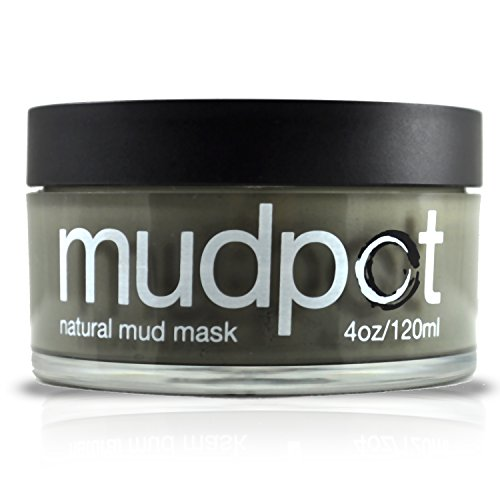 Mudpot by Black Rock Mud Company - Natural Face Mask- Organic Mineral Rich Illite Clay Mask- Over 50 Trace Minerals- Facial Cleanser- Detoxifies and Restores Skins pH- No Preservatives Chemicals and Additives - 4 ounces, Made in the USA