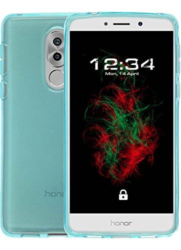 Baluum - Carcasa de TPU Transparente para Huawei Honor 6X (TPU-T)