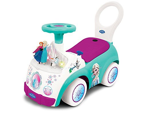 Disney Frozen Elsa Light-Up and Musical Ride-On Toy