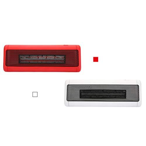 Breale - Minicalefactor eléctrico para escritorio, portátil, con protección contra altas temperaturas,...