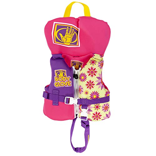 Infant PFD Pink - Water Life Jacket Vest for Boat Kayak Paddling Use and Safety Sports Personal Flotation Device for Infant Babies Unisex Open Ocean Lakes and Ponds