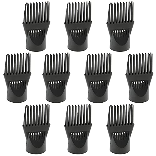 Harayaa 10pcs Universal Professional Hair Blow Dryer Diffuser Wind Comb Attachment