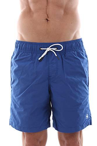 G-STAR RAW Dirik Swimshort Short de Bain, Bleu (Hudson Blue 1855), Small Homme