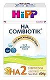 Hipp Milchnahrung, HA 2 Combiotik, 4er Pack (4 x 600 g) -