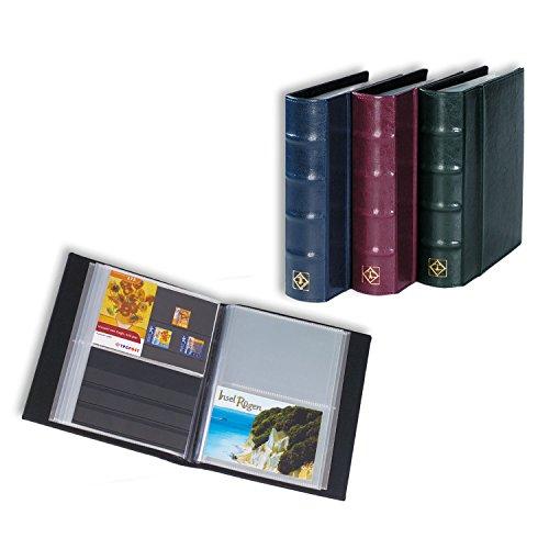 Leuchtturm (314054 Album Cartes Postales pour 50 Pochettes Transparentes, Bleu