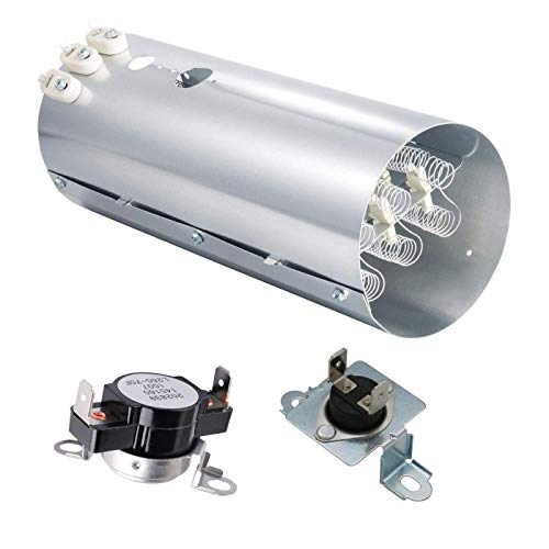 Ecumfy 134792700 & 137032600 & 3204267 Dryer Heating Element Kit Compatible with Frigidaire Electrolux Dryers Replaces PS2349309 AP4368653 AP213147 PS2349395