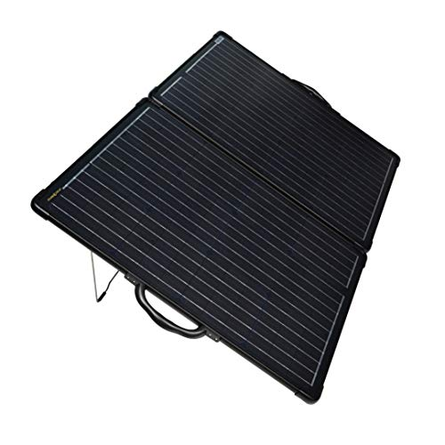 enjoysolar® Ultra light Solarkoffer 120W(2 * 60W) mit EPEVER Wasserdicht Laderegler Tracer2610BP