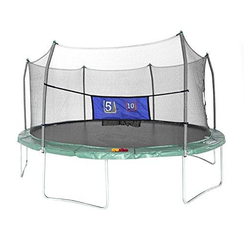 Skywalker Trampolines 16-Foot Oval Trampoline with Enclosure
