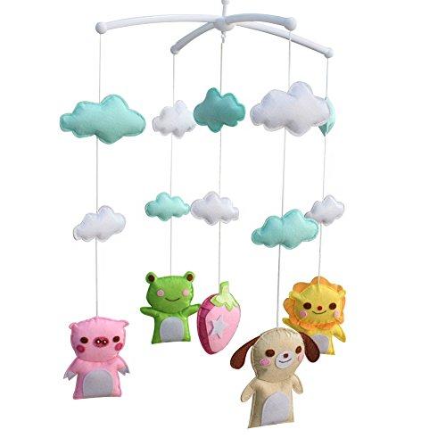 Non tissé jouets en tissu [Lovely Friends] Adorable décor, berceau Mobile