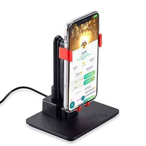 NEWZEROL Téléphone Swing Device Compatible pour Pokemon Go/Poke Ball Plus/Steps Challenge,Téléphone Portable Podomètre,[Modes à Trois Vitesses] [Version muette] Dispositif de Gain Quick Steps