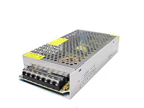 Vetrineinrete® Alimentatore stabilizzato 12v 15 ampere switch trasformatore per illuminazione led e videosorveglianza B1