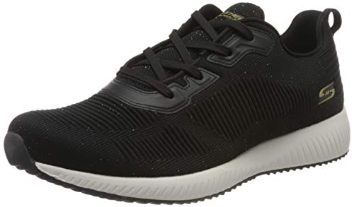 Skechers Women's BOBS Squad-Total Glam Trainers