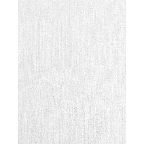 50 hojas de papel de lino blanco con textura de seda A4 250 g/m²