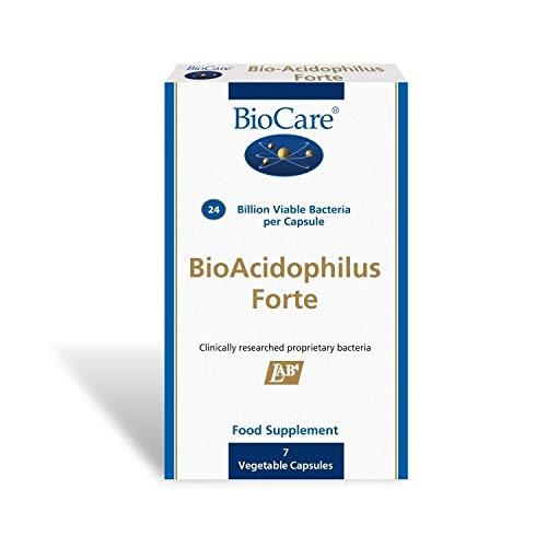 Biocare | Bioacidophilus Forte (30 Billion) 7 Caps | 1 X 7 Capsule