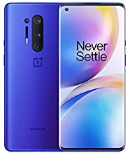 OnePlus 8 Pro Ultramarine Blue, 5G Unlocked Android Smartphone U.S Version, 12GB RAM+256GB Storage, 120Hz Fluid Display,Qu...
