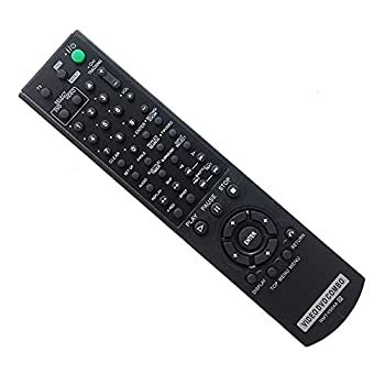 RMT-V504A Replacement Remote Control for Sony RMT-V501A SLV-D100 SLV-D281P SLV-D380P YSP-4000BL DVD-VCR Combo Player