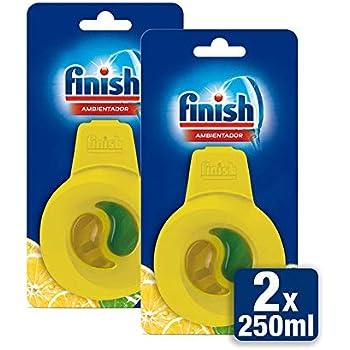 Finish Ambientador para Lavavajillas Limón - Paquete de 2 piezas ...