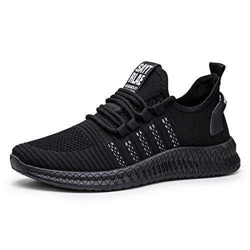 Learn More About AMSKY Mens Sport Running Shoes, Men Lightweight Air Cushion Tennis Shoes Fly Knitte...