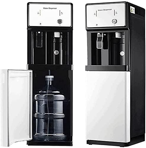 CJDM Dispensador de Agua de Carga Inferior, Enfriador de Agua embotellada, máquina enfriadora, ebullición instantánea de 3 Segundos, función Doble de frío Caliente, Ideal para la Oficina en casa,