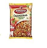 GroßhandelPL Amino Zuppa di noodle istantanei Zuppa di gulasch con carne di maiale e paprika (22 x 59g)