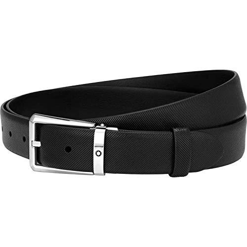 Montblanc cintura nera elegante 123896