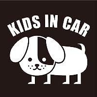 imoninn KIDS in car ステッカー 【パッケージ版】 No.03 コイヌさん (白色)