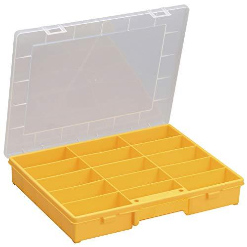 Allit 457240 EuroPlus Basic 37/15, gelb Sortimentskasten