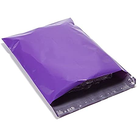 20 pk of Blue Purple Hearts 12 x 15 Poly Mailers Shipping Bags Boutique Office