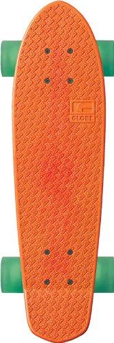 Globe Cruiserboard Bantam-Mash UPS, Orange/Horizon/Clear Green, 24 x 7 cm