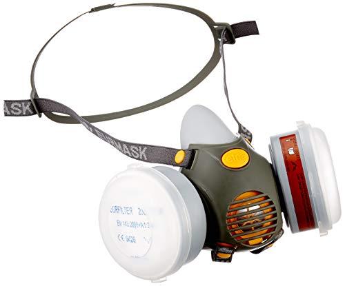 Kerbl 34535 Halbmaske Etna inklusiv 2 Filter A1P2, Blister
