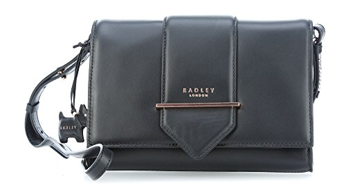 Radley London Palace Street Flapover Umhängetasche schwarz