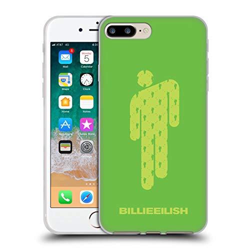 Head Case Designs Oficial Billie Eilish Verde Blohsh Arte Clave Carcasa de Gel de Silicona Compatible con Apple iPhone 7 Plus/iPhone 8 Plus