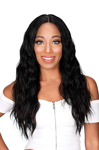 Zury Sis The Dream Synthetic Lace Front Wig - H KANI (99J)